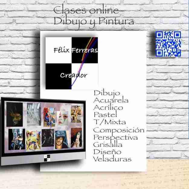 CLASES ONLINE DIBUJO Y PINTURA