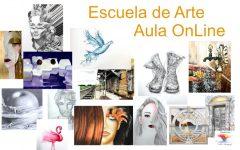 Obras de la Escuela de Arte y Aula OnLine